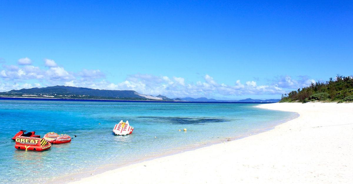 Okinawa Furuzamami Beach