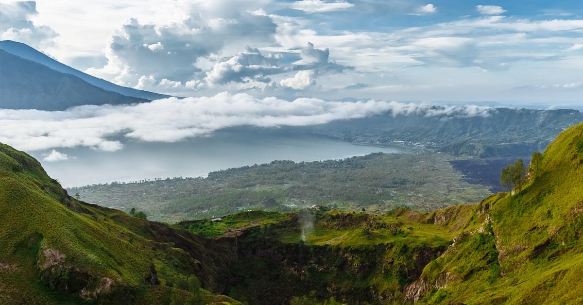 Bali Batur Volcano