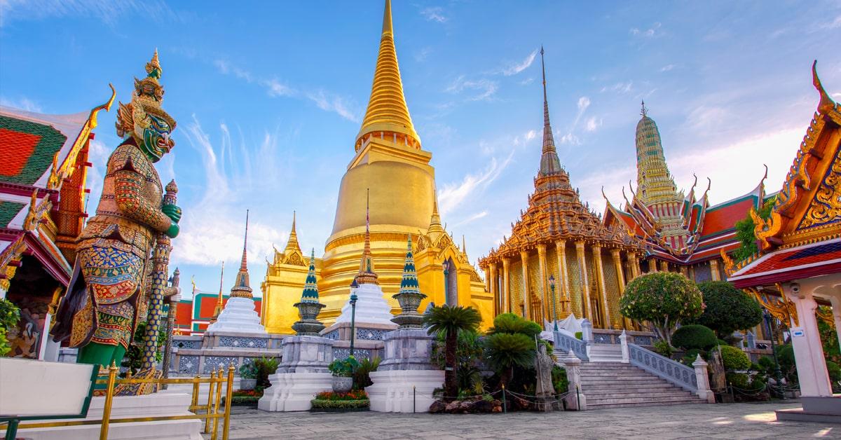 Bangkok Wat Phraw Kaew