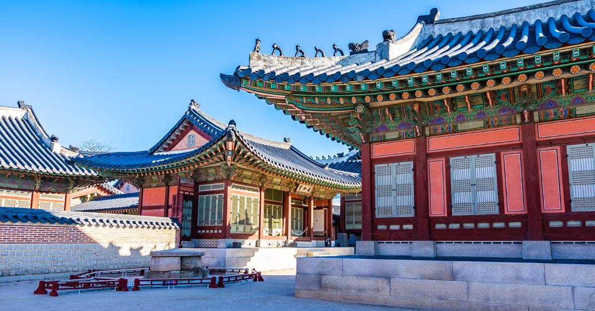 Winter in South Korea