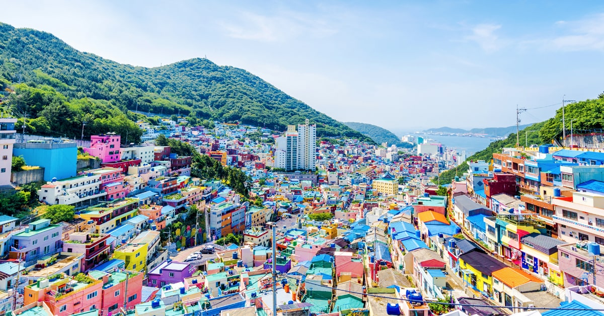 South Korea Gamcheon Culture Village