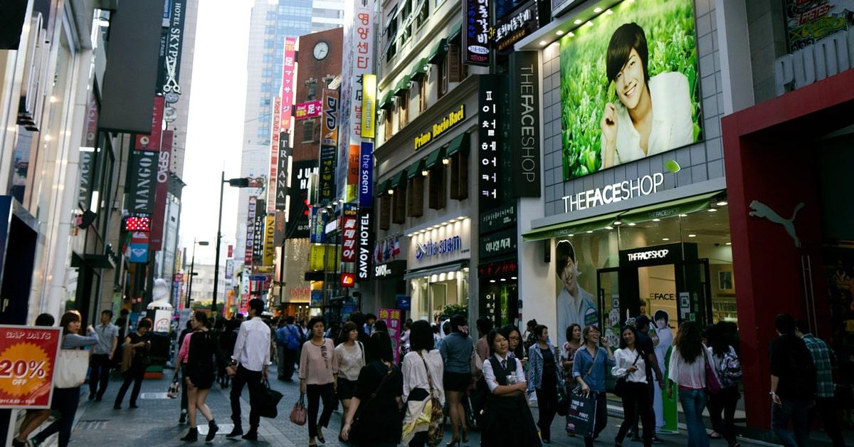 South Korea Myeongdong