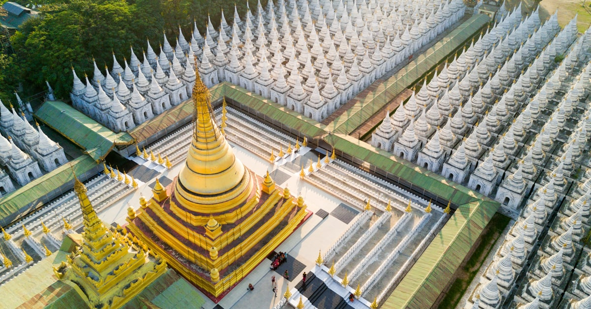 Myanmar Beautiful Pagodas