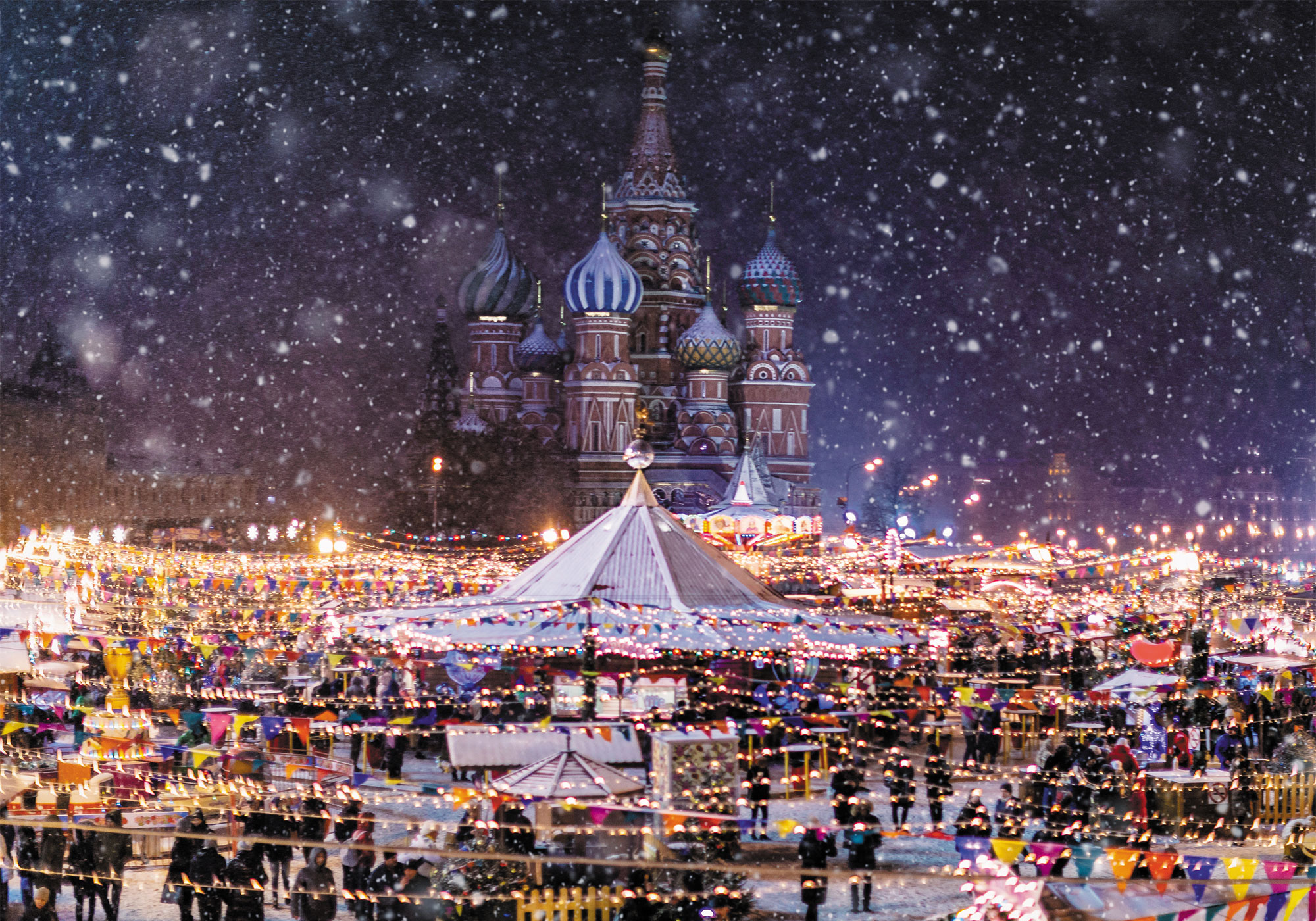 Moscow Christmas Market